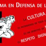 Plataforma en Defensa de la Cultura