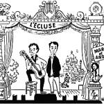 """Marc Chevalier cofondateur du Cabaret """"L'Écluse"""" et du Centre de la Chanson."""