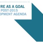 Culture as Goal in the Post-2015 Development Agenda